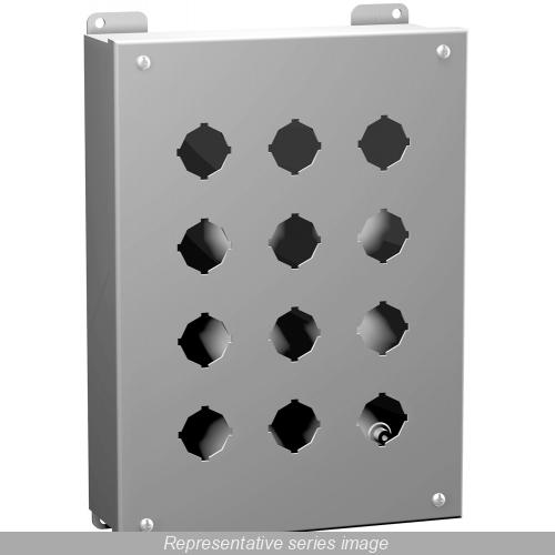HAM 1435A NEMA12 Push Button ENC 3.5X3.2