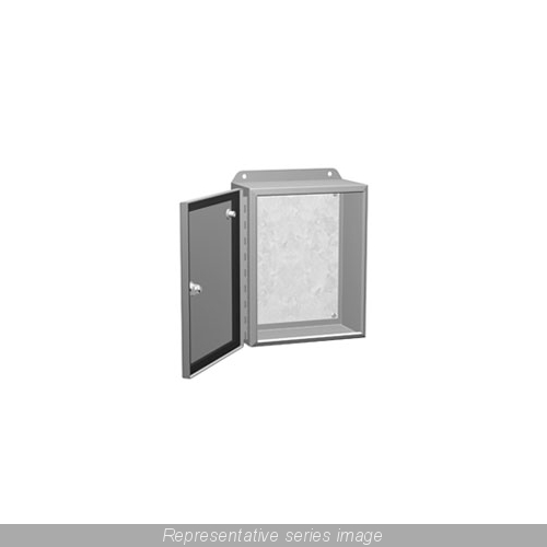 EJ14126 HMND 14X12X6 SGL DOOR ENCL