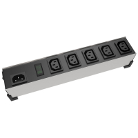 100-240 VAC / 10A IEC Heavy Duty Outlet Strip