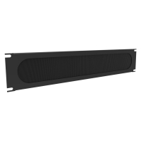 Brushed Panel Horizontal Cable Manager