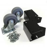 C2 Low-Profile Cabinet Caster Set