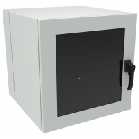 EN4DH242424WLG - 12U with Window Door