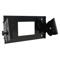 Pivoting Panel Wall Mount Rack