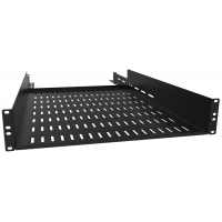 Adjustable Depth 4-Post Rack Mount Shelf