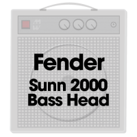 Fender Sunn 2000 Bass Head