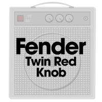 Fender Twin Red Knob*