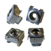 12-24 Nickel Square Hole Cage Nut