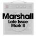 Marshall Late Issue Mark II