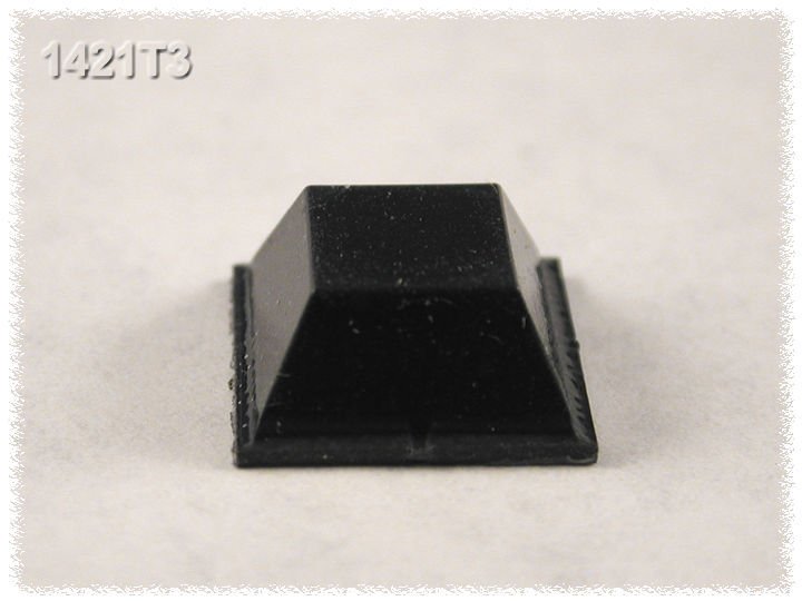 1421T3 - 1421-Series Protective Rubber Feet