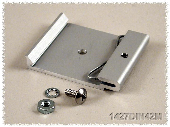 1427DIN42M - 1427DINCLIP Series Nylon and Extruded Aluminium