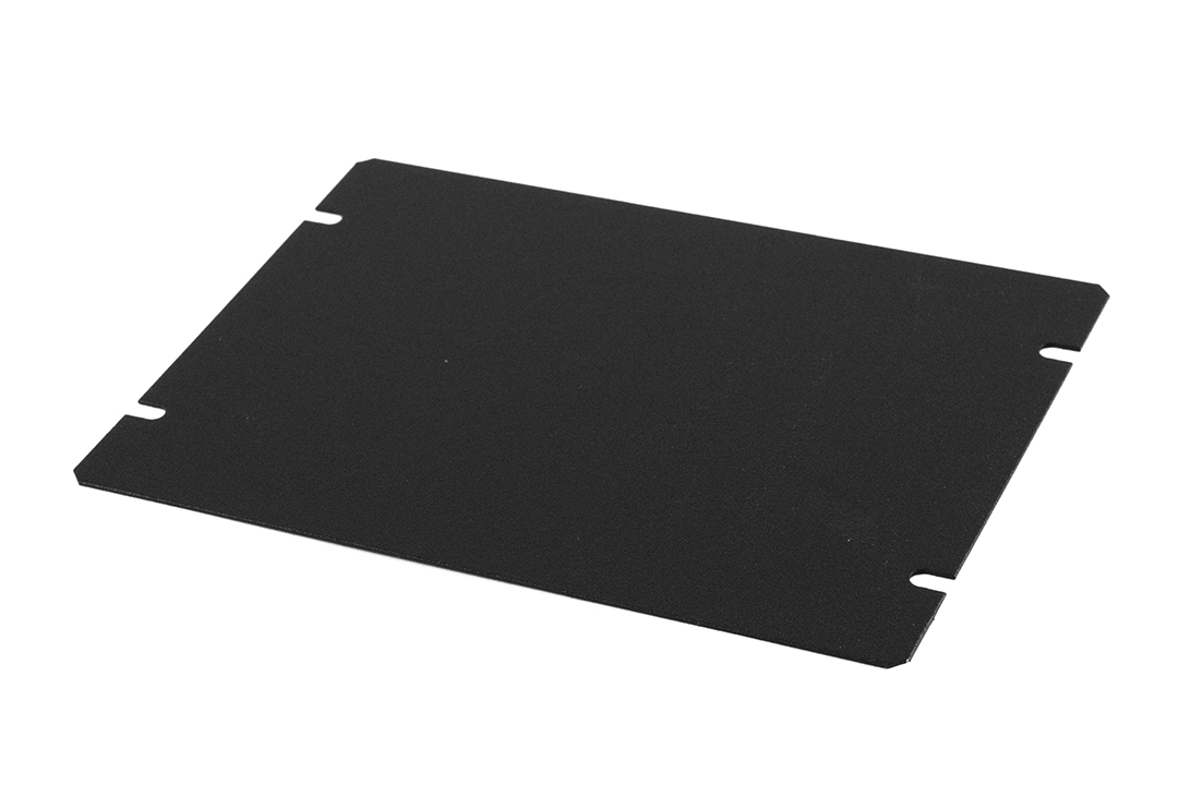 1431-12BK3 - 1441 Series Enclosures Black Bottom Panel