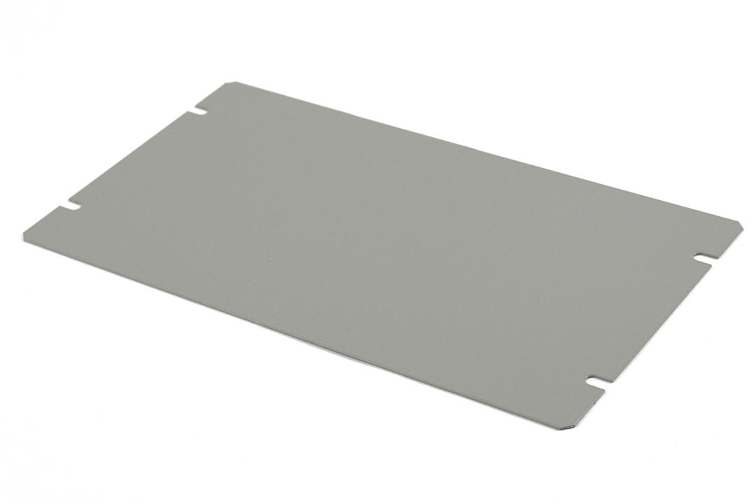1431-14 - 1441 Series Enclosures Grey Bottom Panel