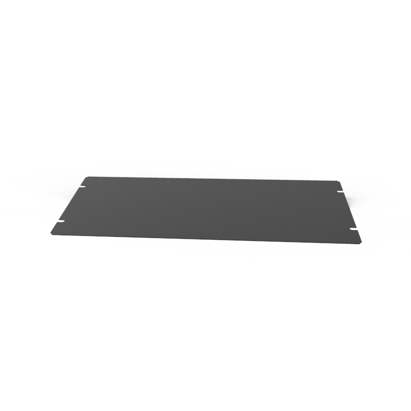 1431-18BK3 - 1441 Series Chassis Satin Black Bottom Panel