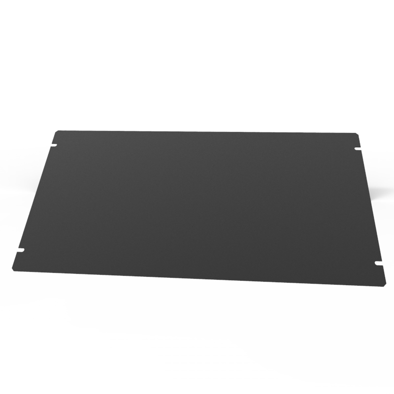 1431-26BK3 - 1441 Series Chassis Satin Black Bottom Panel