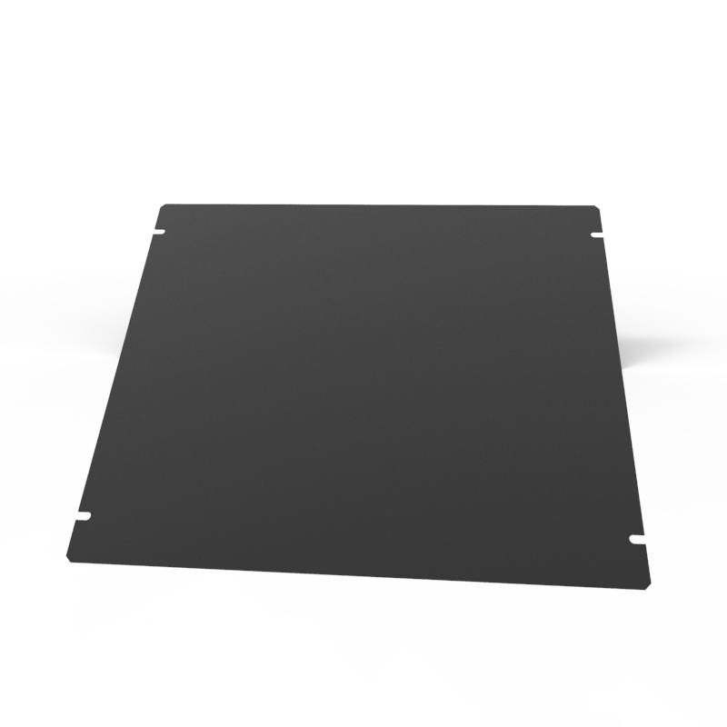 1431-29BK3 - 1441 Series Chassis Satin Black Bottom Panel