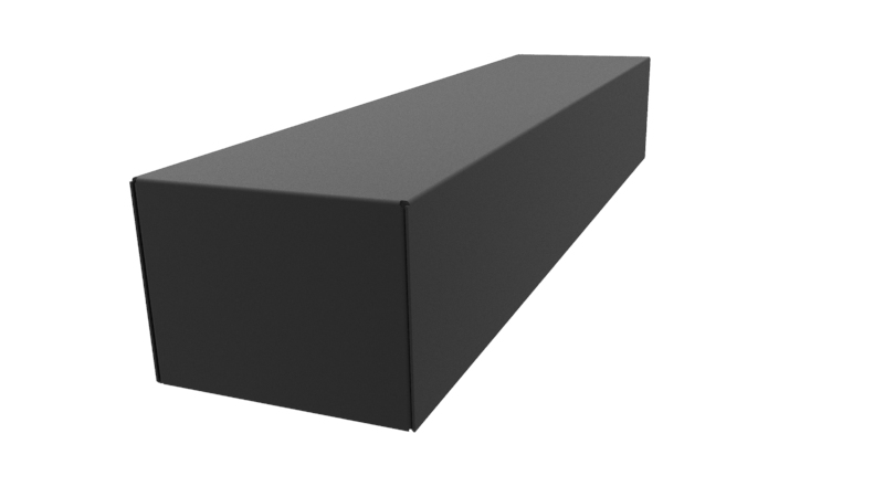 1441-20BK3 - 1441 Series Powder Coated Steel Chassis