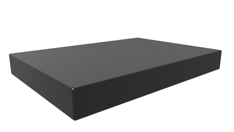 1441-34BK3 - 1441 Series Powder Coated Steel Chassis