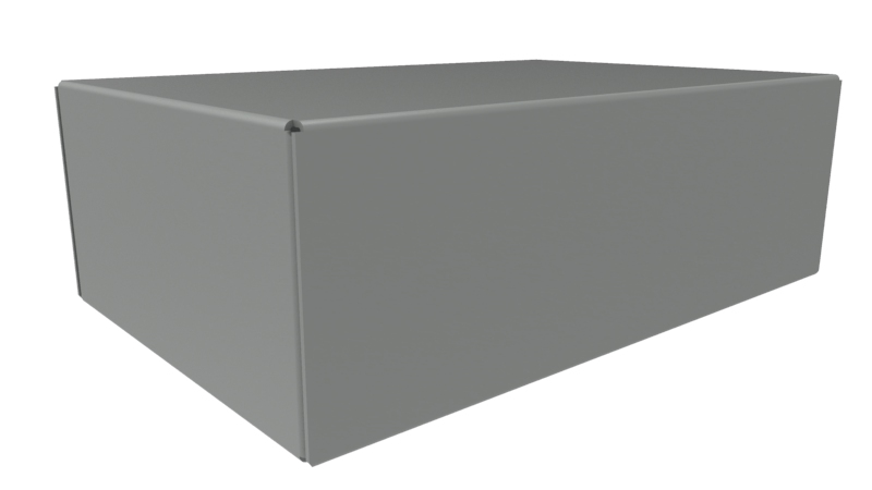 1441-8 - 1441 Series Powder Coated Steel Chassis