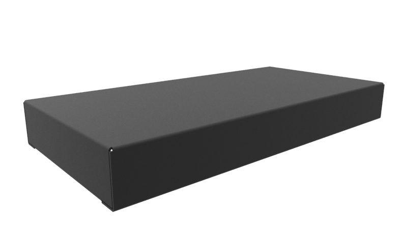1441-9BK3 - 1441 Series Powder Coated Steel Chassis