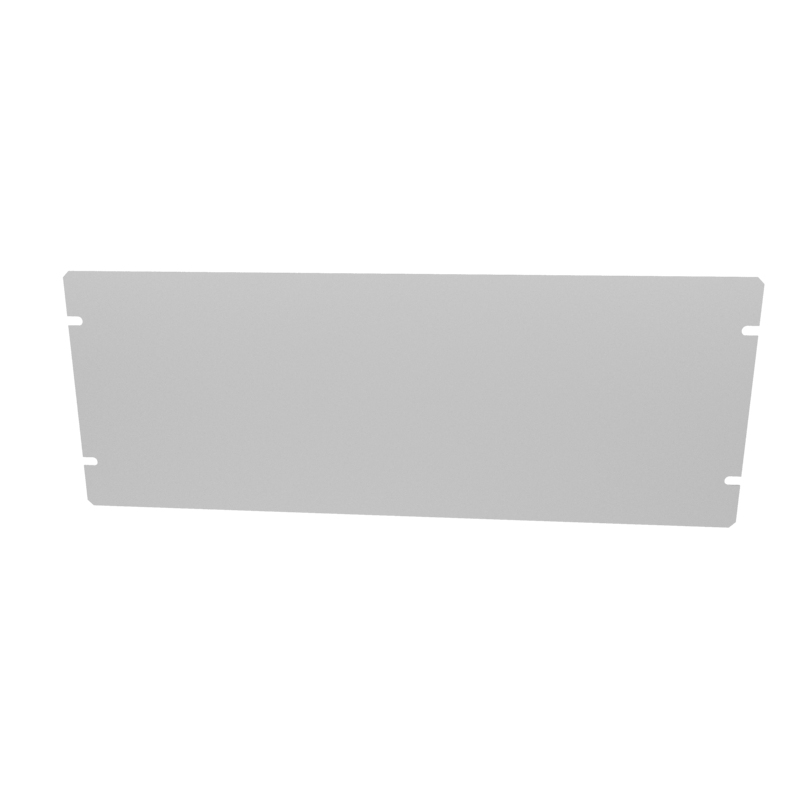 1434-18 - 1444 Series Enclosures Grey Bottom Panel