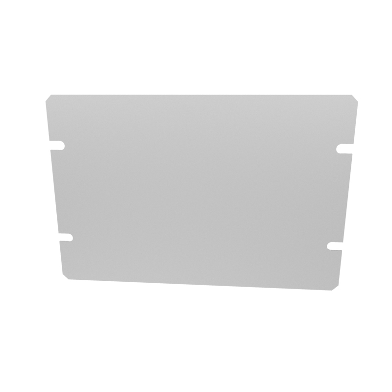 1434-8 - 1444 Series Enclosures Grey Bottom Panel