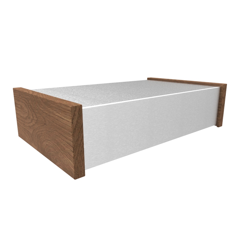 1444-33CWW - 1444 Series Aluminium Chassis with Walnut Side Options