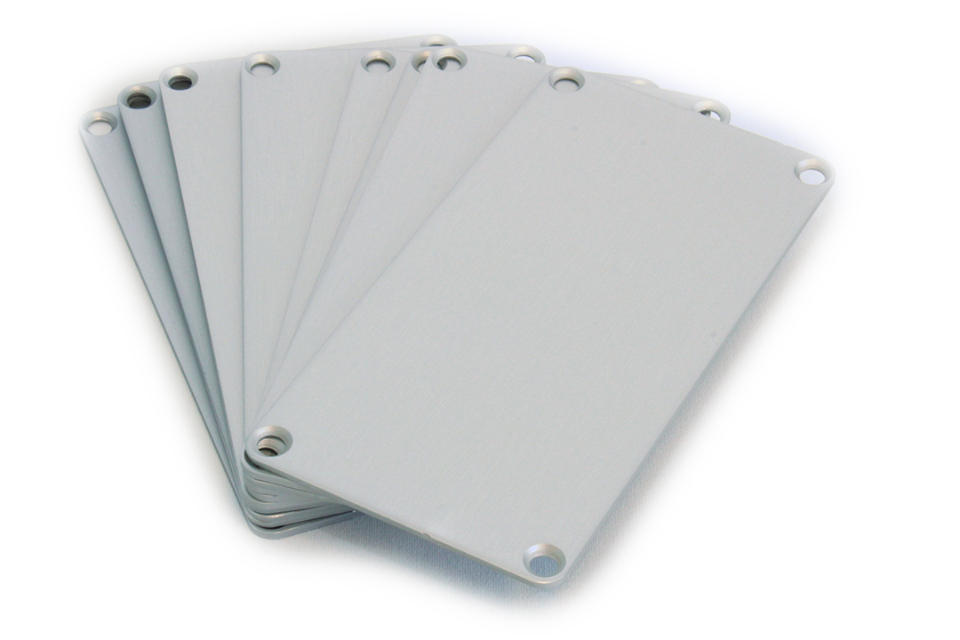 1455NAL-10 - 1455 Series Enclosures Aluminium End Panels