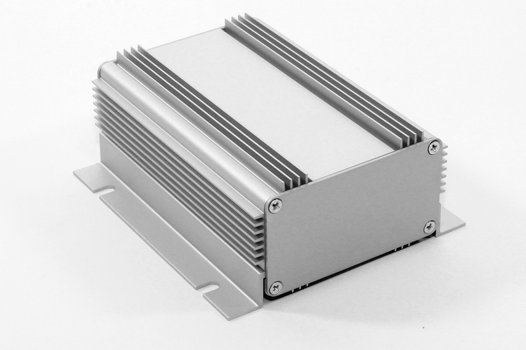 1455KHD1201 - 1455HD Series Heat Dissipating Extruded Aluminium Enclosures