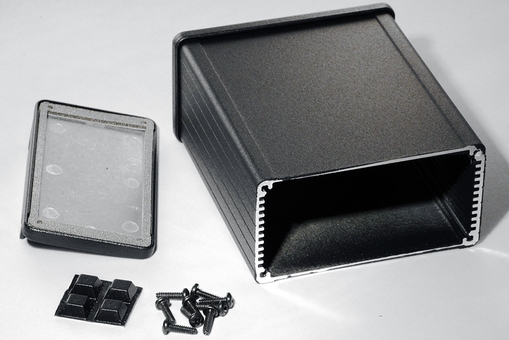 1457N1202EBK - 1457-EMI Series Enclosures
