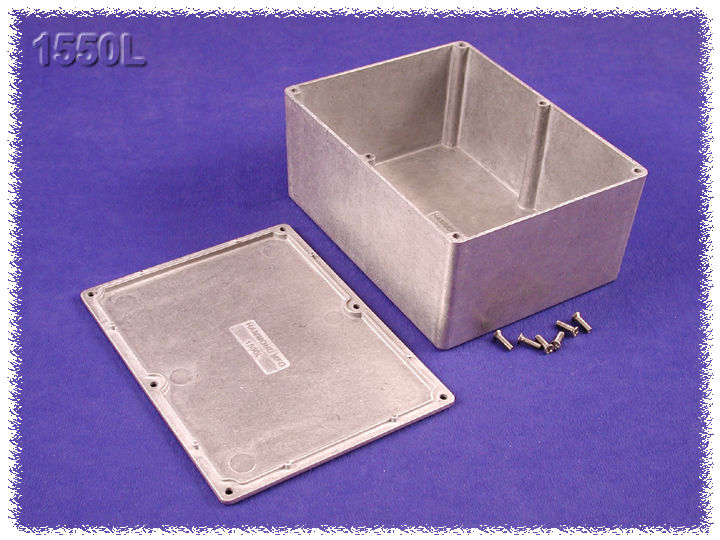 1550L - 1550 Series Diecast Aluminium Enclosures