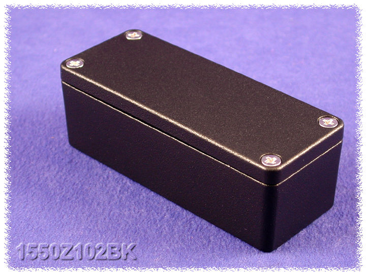 1550Z102BK - 1550Z Series Enclosures
