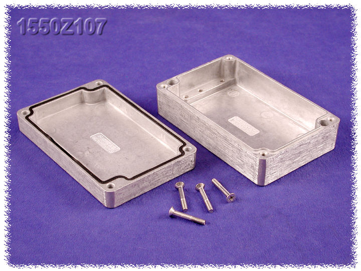 1550Z107 - 1550Z Series Water-Tight Diecast Aluminuim Enclosures