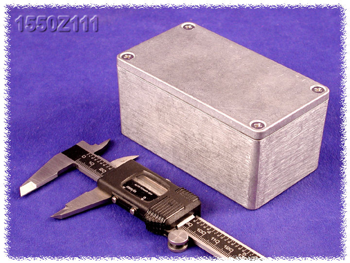 1550Z111 - 1550Z Series Water-Tight Diecast Aluminuim Enclosures