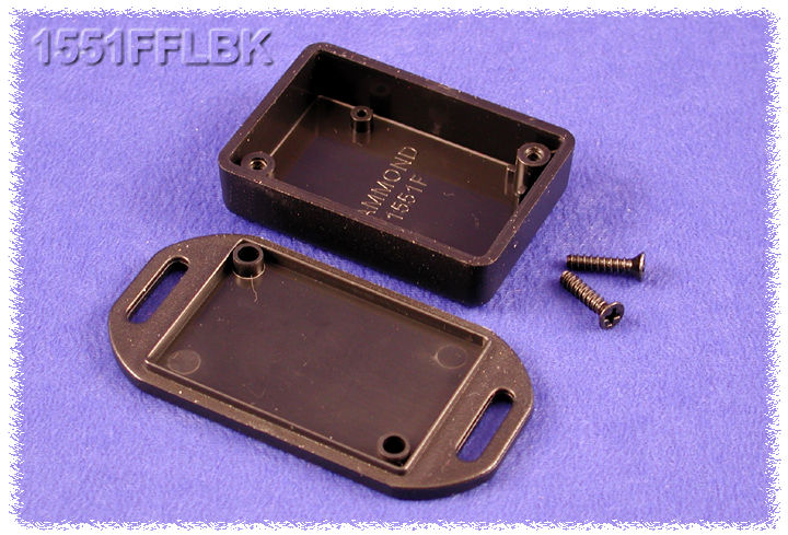 1551FFLBK - 1551 Series Enclosures