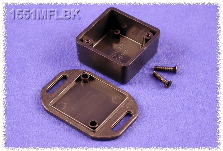 1551MFLBK - 1551 Series Enclosures