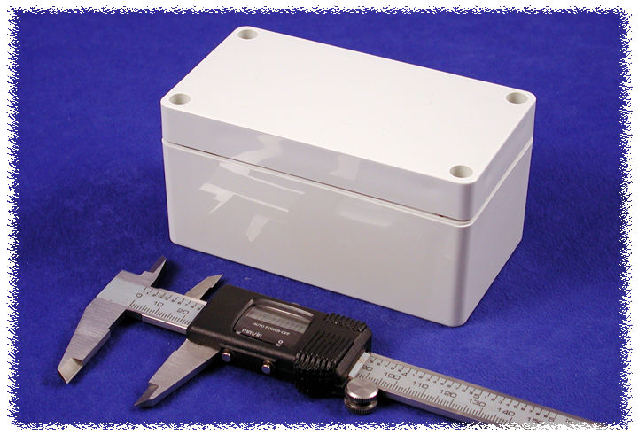 1554DGY - 1554 Series General Purpose ABS Enclosures with Grey Lid