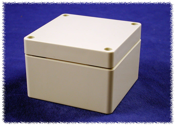 1554E2GY - 1554 Series Polycarbonate (UL Listed) Enclosures with Grey Lid