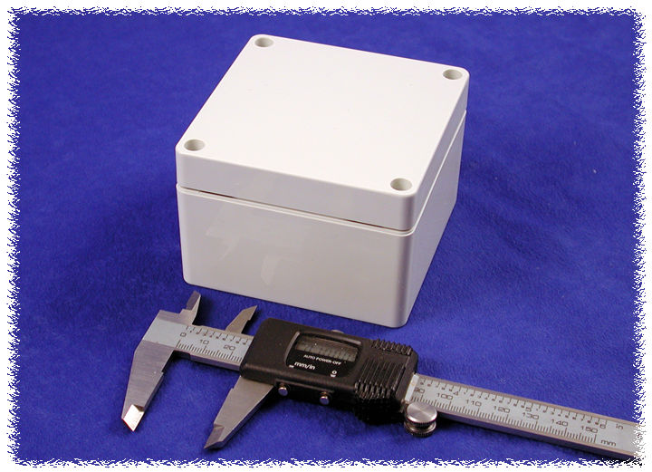 1554EGY - 1554 Series General Purpose ABS Enclosures with Grey Lid