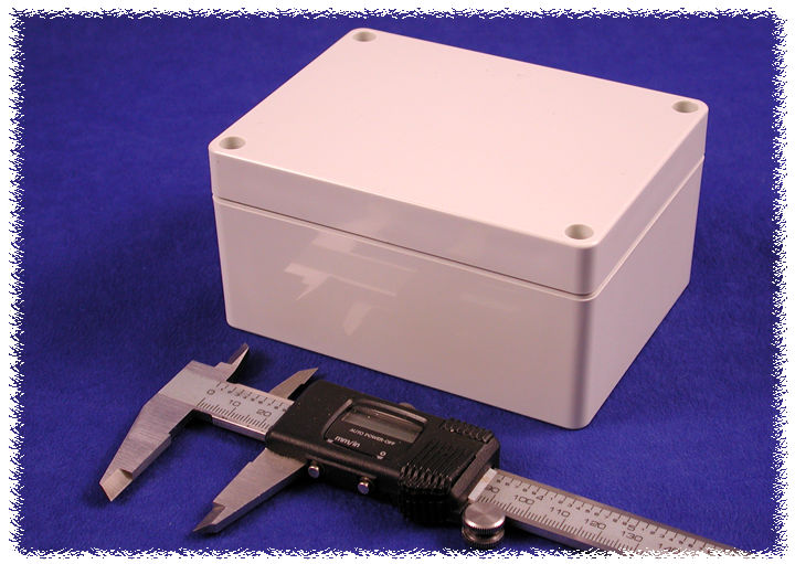 1554FGY - 1554 Series General Purpose ABS Enclosures with Grey Lid