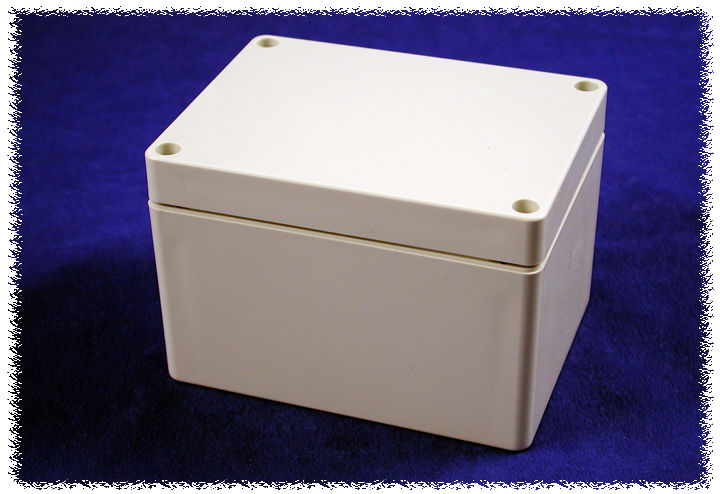 1554G2GY - 1554 Series Polycarbonate (UL Listed) Enclosures with Grey Lid