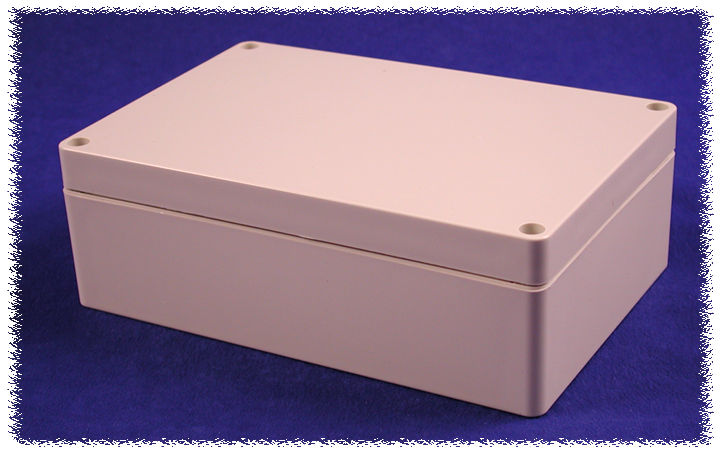 1554H2GY - 1554 Series Polycarbonate (UL Listed) Enclosures with Grey Lid