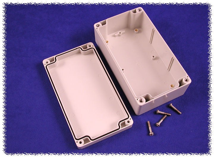 1554J2GY - 1554 Series Polycarbonate (UL Listed) Enclosures with Grey Lid