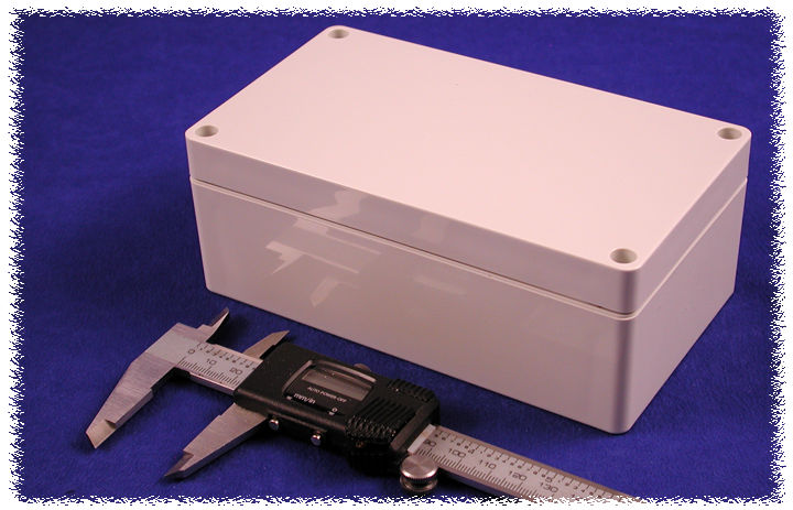 1554JGY - 1554 Series General Purpose ABS Enclosures with Grey Lid
