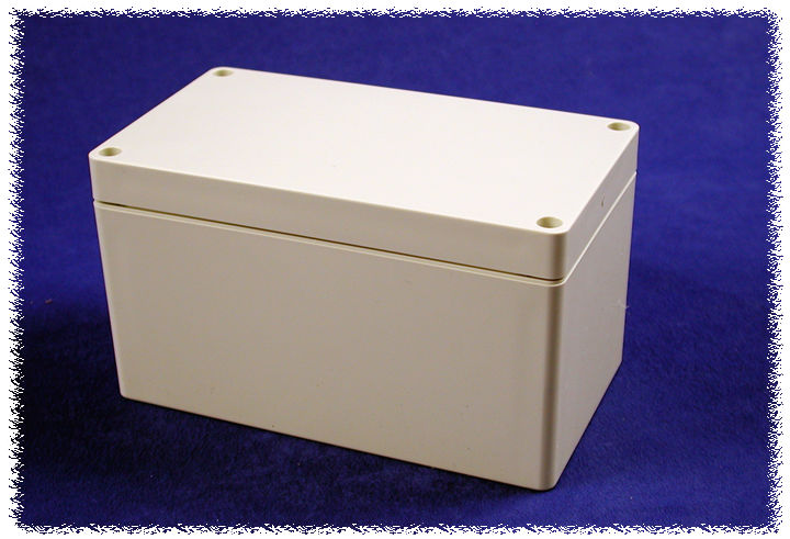 1554K2GY - 1554 Series Polycarbonate (UL Listed) Enclosures with Grey Lid