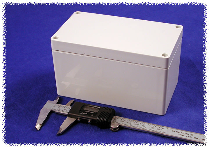 1554KGY - 1554 Series General Purpose ABS Enclosures with Grey Lid