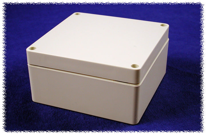1554N2GY - 1554 Series Polycarbonate (UL Listed) Enclosures with Grey Lid