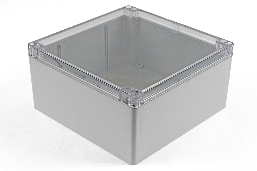 1554WA2GYCL - 1554 Series Polycarbonate (UL Listed) Enclosures with Clear Lid