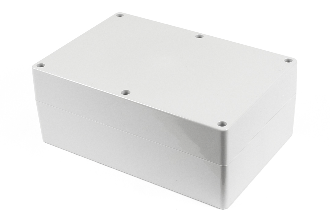 1554XA2GY - 1554 Series Polycarbonate (UL Listed) Enclosures with Grey Lid