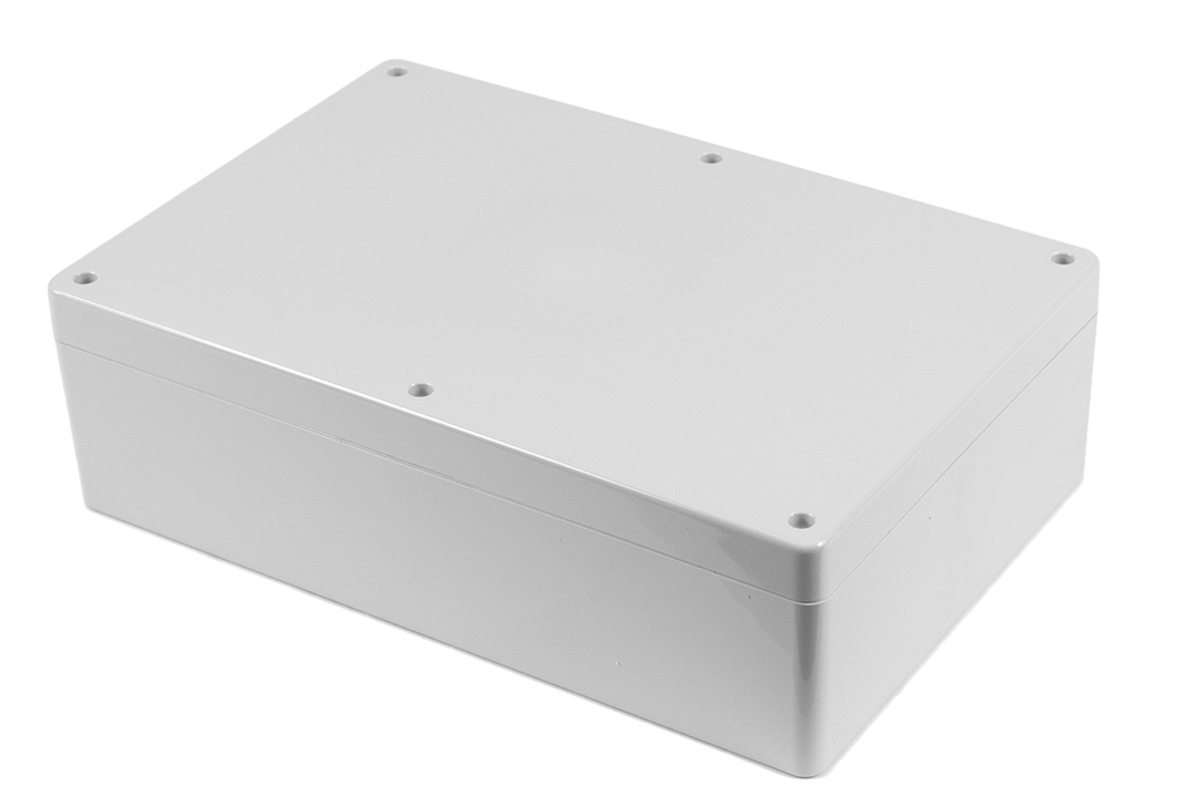 1554XGY - 1554 Series General Purpose ABS Enclosures with Grey Lid