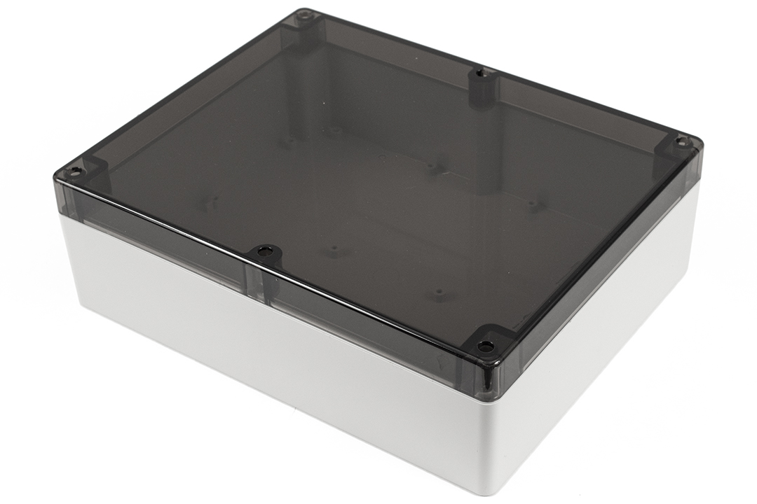 1554Y2GYSL - 1554 Series Polycarbonate (UL Listed) Enclosures with Smoked Lid